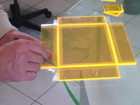 """Hinge Technique"" Acrylic Box Construction"