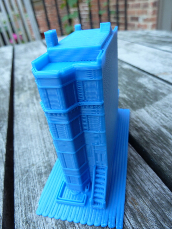 Boston Brownstone 3D Print