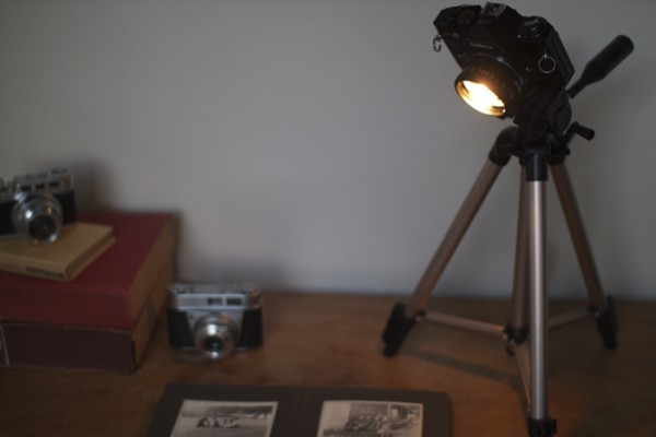 Camera Desk Lamp for Late-Working Photographers