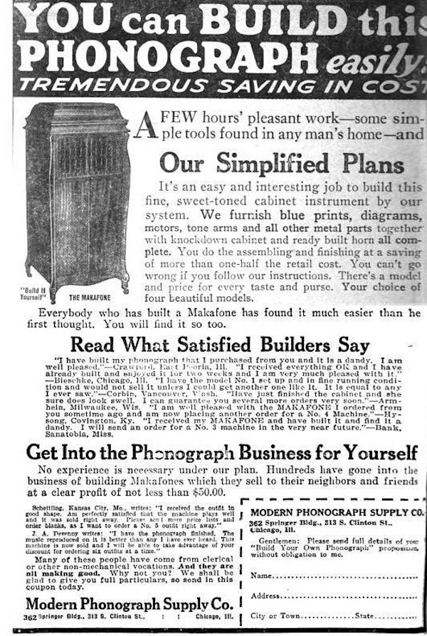Makafone: A Vintage DIY Phonograph Kit