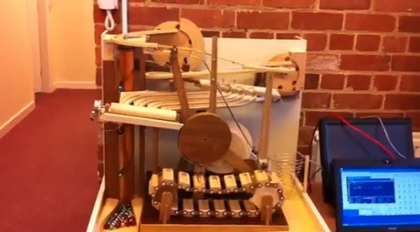 Computer Controlled Marble Sorter
