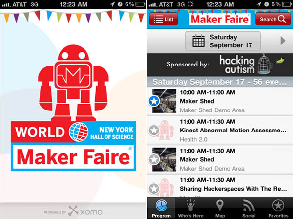 The Maker Faire App