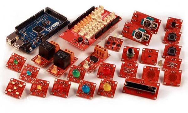 New in the Maker Shed: Arduino ADK TinkerKit