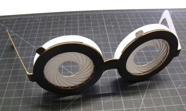 How-To: Paper Iris Glasses