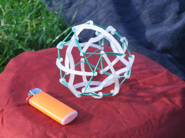 Printable Modular Origami Ball