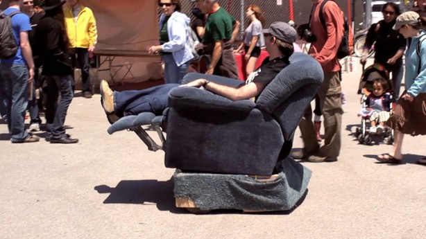 Have Your Recliner and Ride It, Too (video)