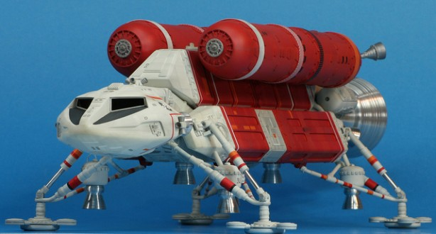 """Scratchbuilt:  The """"Swift"""" from """"Space 1999"""""""