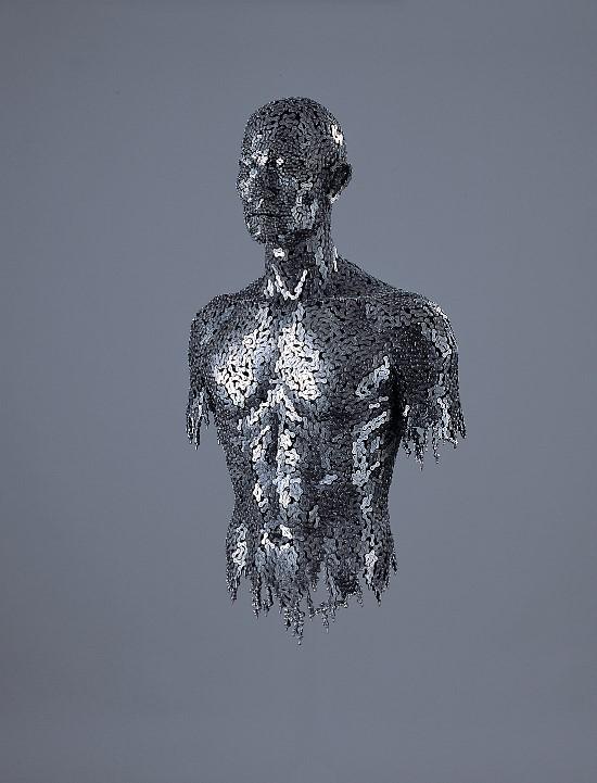 Welded Chain Sculpture