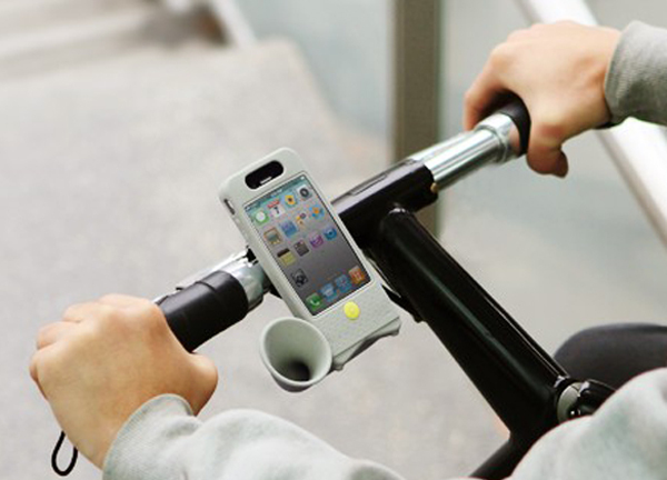 iPhone 4 Passive Amplifier Case