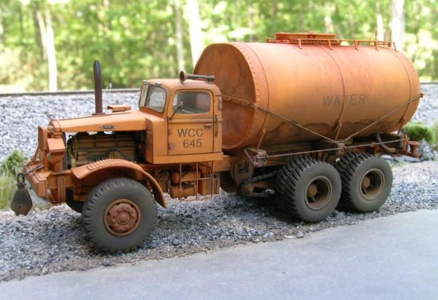 Scratchbuilt: 1/87 Mack FCSW Water Truck