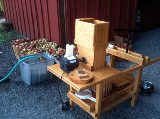 Intern's Corner: Making Apple Cider