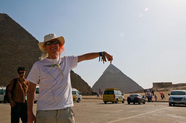 Mitch Altman's Hacker Trip to Egypt