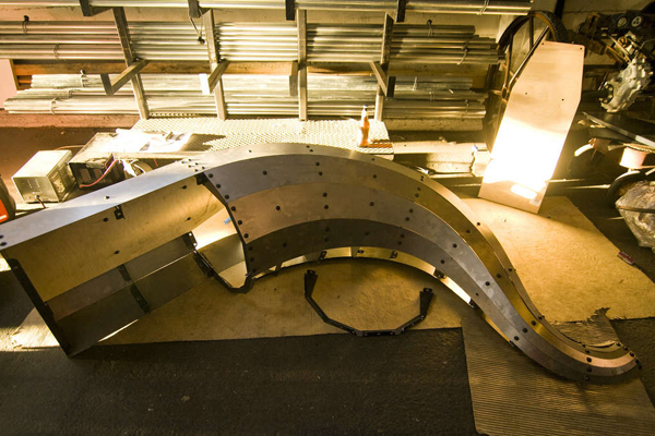 Building an Art Car's Serpent Tail for Burning Man