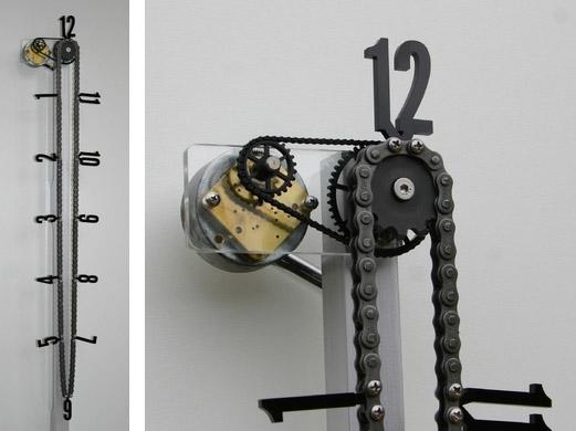 Roller Chain Clockworks