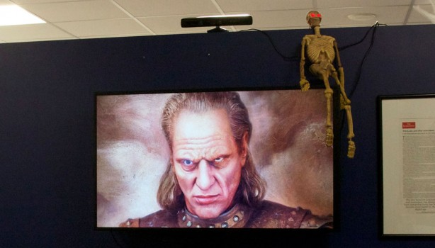 Halloween Hack: Kinect Enabled Portrait of Vigo the Carpathian