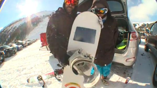 iShred: iPad Embedded Snowboard