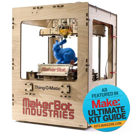 Kit-A-Day Giveaway: Free MakerBot!