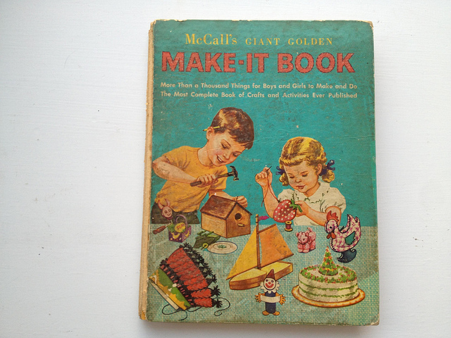 McCall's Giant Golden Make-It Book