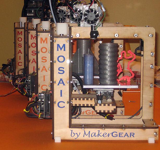 Building the MakerGear Mosaic 3D Printer – Part I: The Frame