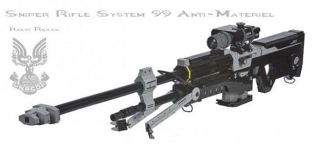 Full Size Lego Halo Sniper Rifle