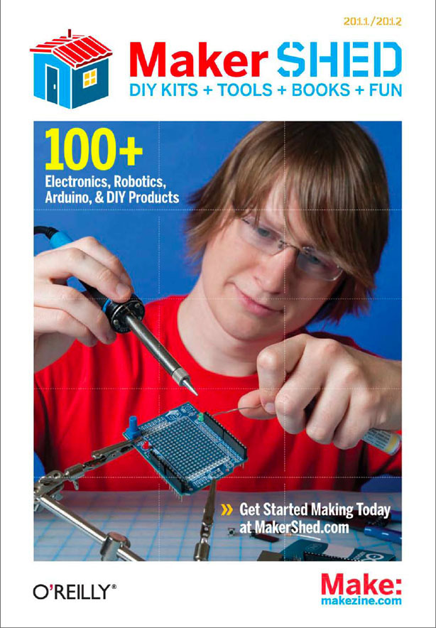 Get the First-Ever Maker Shed Catalog!