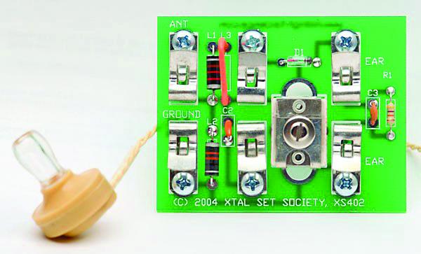 XS-402 Little Wonder Crystal Radio Kit