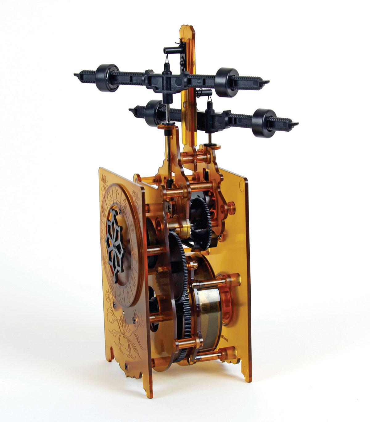 Edo-Style Clock