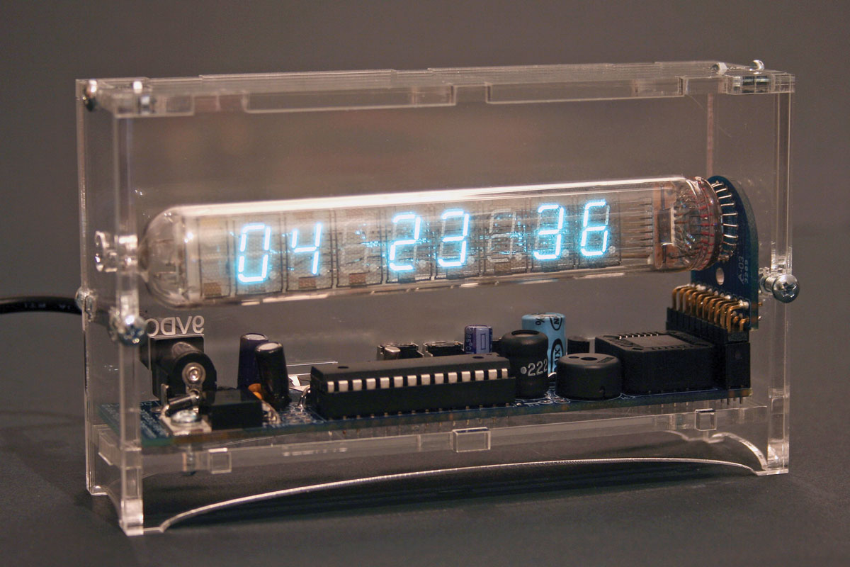 Ice Tube Clock