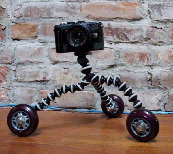 Gorillapod on Wheels