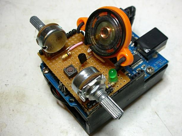 Luna Mod Looper with Arduino Mod