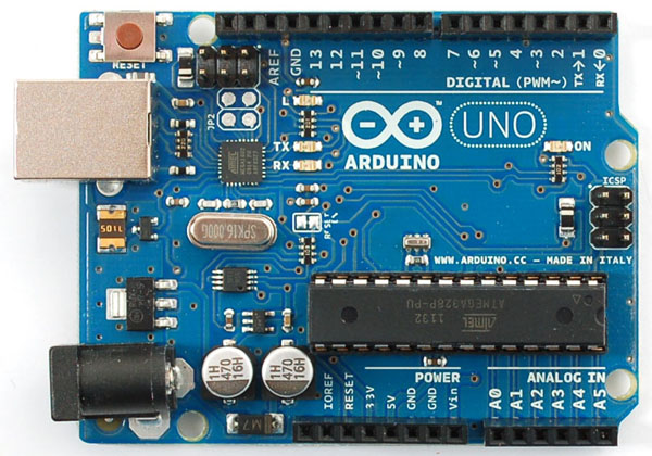 In the Maker Shed: New Arduino UNO Revision 3
