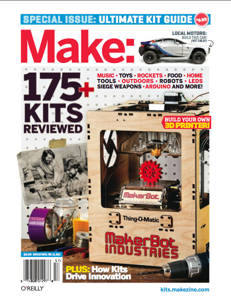In the Maker Shed: Ultimate Kit Guide