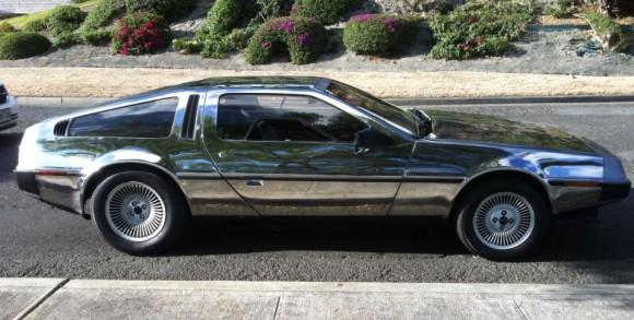 Why Yes, You Can Mirror Polish a DeLorean