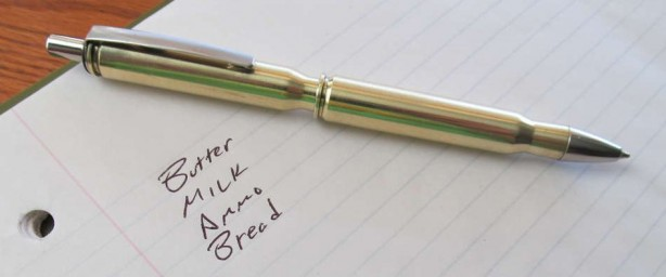 How-To:  Rifle Shell Pen Body