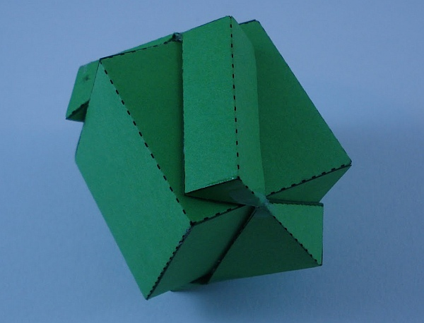 Math Monday: Passing a Cube Through Another Cube