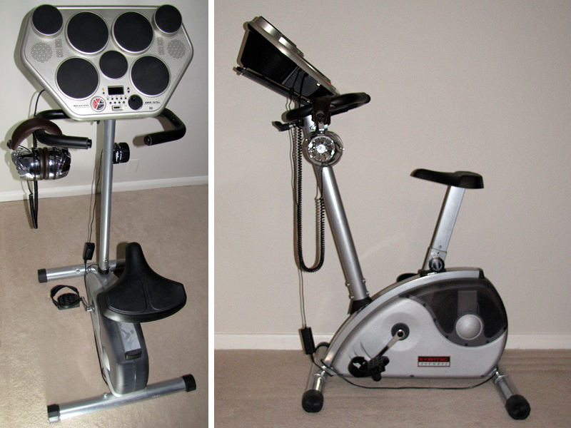 Make: Projects – Stationary Drumcycle