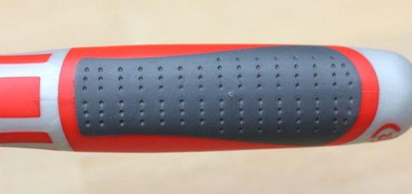 NWS Ergo-Grip Long-Nose Pliers Grip Closeup