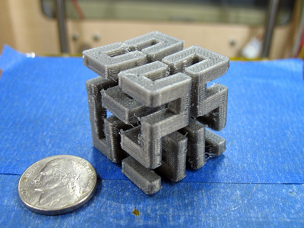 Fused Filament Printing with Water-Soluble Support