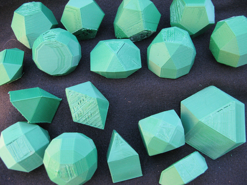 Printable Johnson Polyhedra