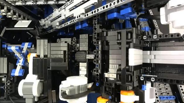 NXT-Based Brick Sorting Robot