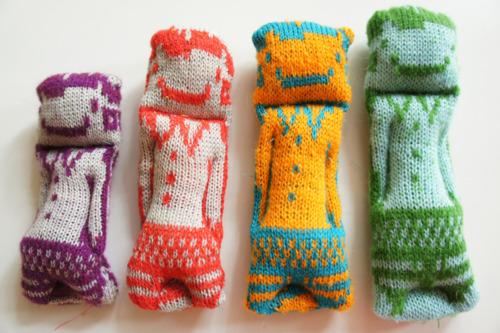 Funky Machine Knit Dolls