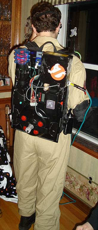 DIY Ghostbusters Proton Pack and Ecto Goggles