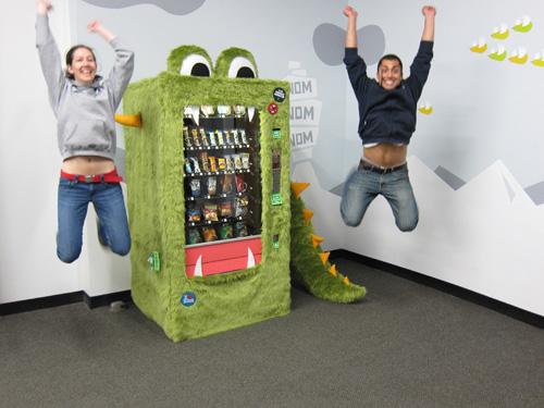 The Goodie Monster Vending Machine