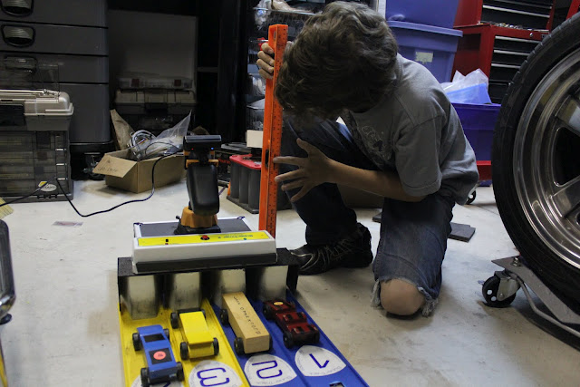 Pinewood Derby Instant Replay System