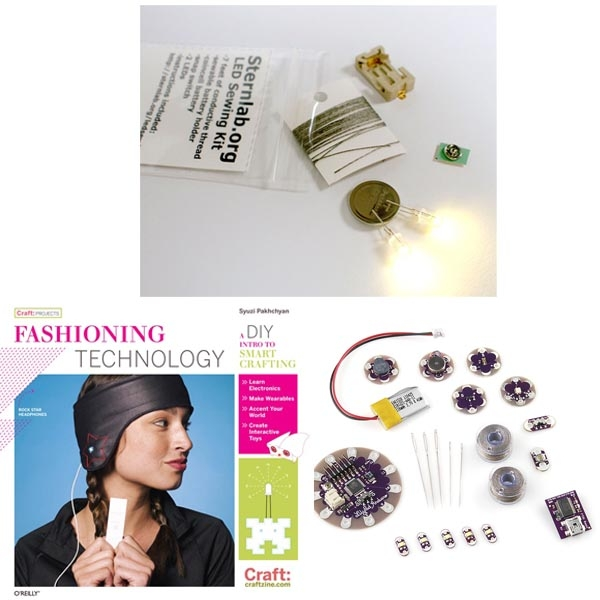 In the Maker Shed: E-Textiles Bundle