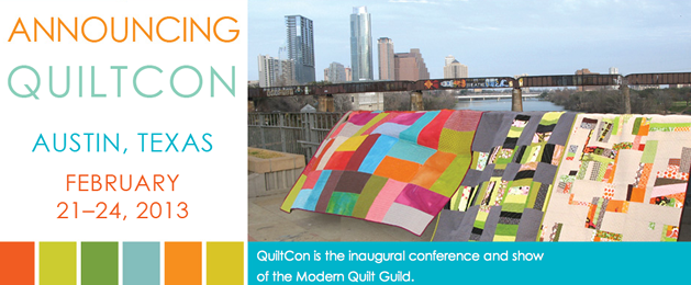Inaugural QuiltCon Scheduled for February 2013