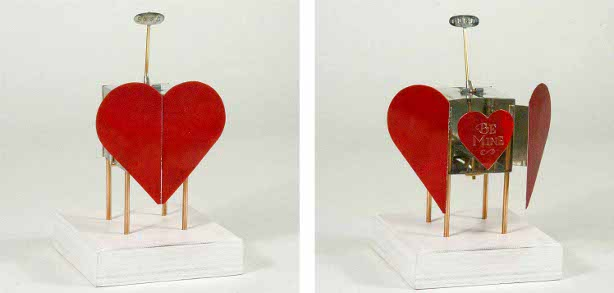 Tinplate Kinetic Valentine