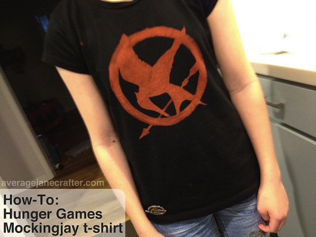 How-To: Hunger Games Mockingjay T-Shirt