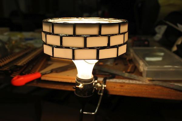 Laser Cut Acrylic Lampshade