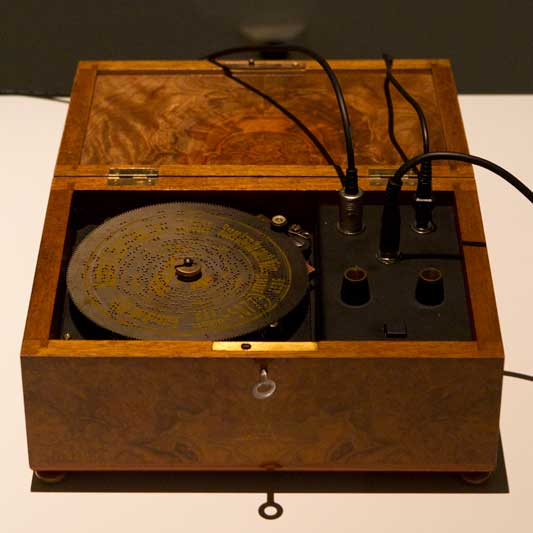 Antique Music Box Gets Electronic Upgrade